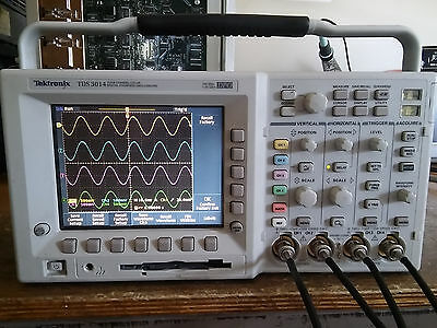 Tektronix TDS3054 500 MHz 5GS/s 4 Channel Oscilloscope / DSO. LOADED!!!