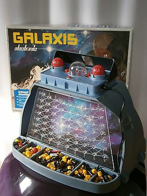 GALAXIS Electronic 1980 / Vintage Game Spiel Ravensburger Space Age