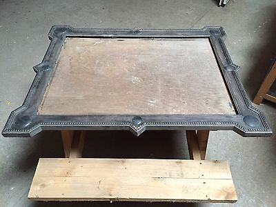 Large Old Wooden Picture Frame Mirror Frame