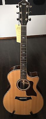 Taylor 814CE ES2 Western Acoustic Guitar Cutaway Mint condition with Case