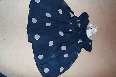 Debenhams Baby Girls Jasper Conran Dress 0-3 months Polkadot  BNWT
