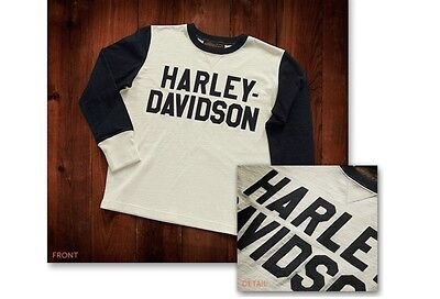 Authentic Harley Davidson Racing Jersey Hand Stitched Lettering 100% Heavy Cotto
