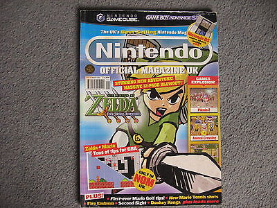 Nintendo Official Magazine Issue 143 2004. Cover: Legend of Zelda: Four Swords..
