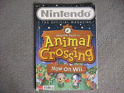 Nintendo Official Magazine Issue 33 2008. Cover: Animal Crossing on Wii