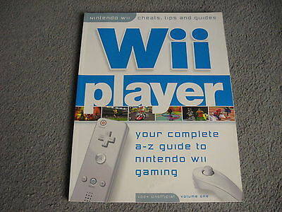 Wii PLAYER Magazine Bookazine Vol. One: complete a-z guide Nintendo Wii gaming