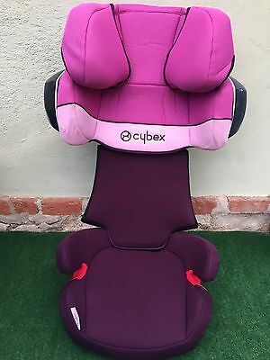 Cybex Solution X-Fix - Purple Rain  Kindersitz