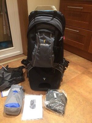 Littlelife Voyager Child Carrier And Accessories Very Good Condition