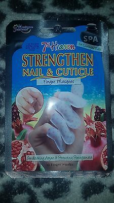 7th Heaven Strengthen Nail & Cuticle Finger Masques Hand Treatment