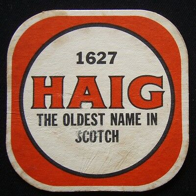 1627 Haig The Oldest Name In Scotch Coaster (B306)