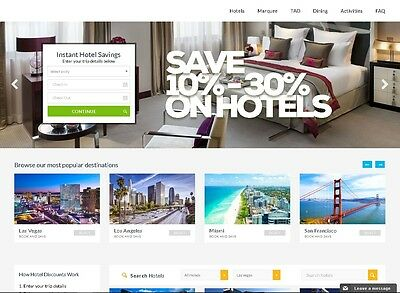 Hotel and concierge business for sale!!! cheapest rates around! DOMAIN INCLUDED!