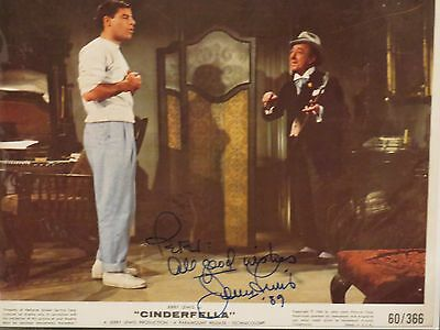 Jerry Lewis signed autographed 8x10 w/ COA