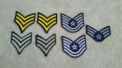 Lot Of Misc Military Patches High Rank