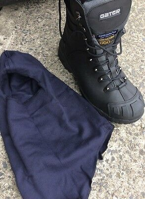 cool work boots FREEZER safety toe cool-room strong  ZIP-side + FREE balaclava