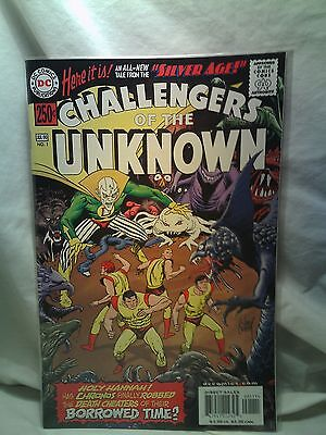 Silver Age Challengers of the Unknown DC Comics issue 1