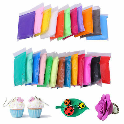 DIY Craft Malleable Polymer Modelling Soft Clay Block Plasticine TOY for Kid