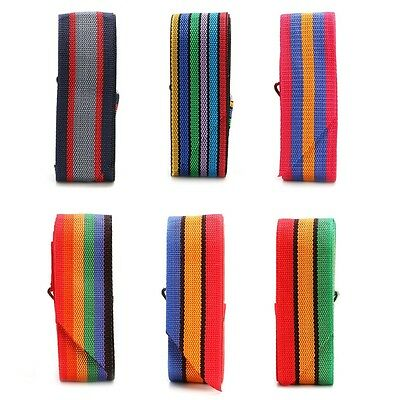 New Travel Luggage Suitcase Cross Strap Baggage Bag Backpack Belt Metal Clasp