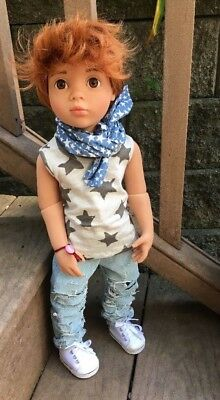 "OOAK Custom Gotz HAPPY KIDZ PLAY BOY ONLY Doll Articulated  50cm/19.8"" NO GIRL"