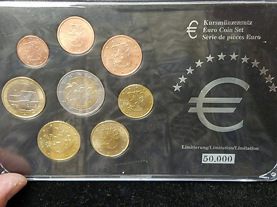 2005 Finnland Euro Premium European Set 50000 Limited Edition 2000 2001 2004