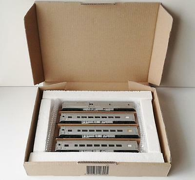 HORNBY - INDIAN PACIFIC PASSENGER CARRIAGE SET (4) - NSWR - HO silver #3