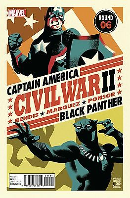 Marvel 2016 Civil War Ii #6 Michael Cho Variant 1St Prnt Comic Nm