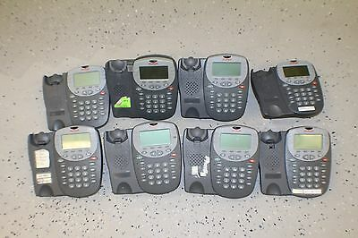 Lot of 8- AVAYA 5410 DCP DIGITAL DISPLAY PHONE For IP OFFICE Gray