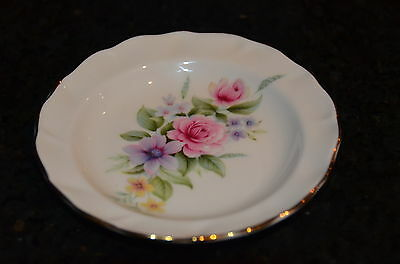Duchess Bone China England  Pin Dish - Ring Jewellery Dish -Vintage Shabby Chic