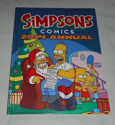 SIMPSONS COMICS 2014 ANNUAL hardcover