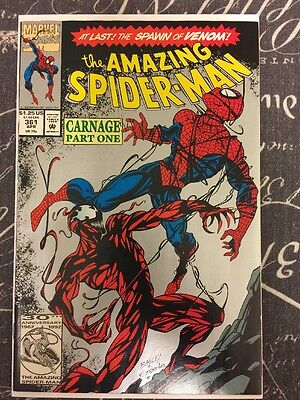 Spider-Man 361 2nd Print 1st Appearance Of Carnage