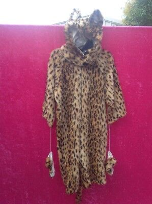 leopard childs costume