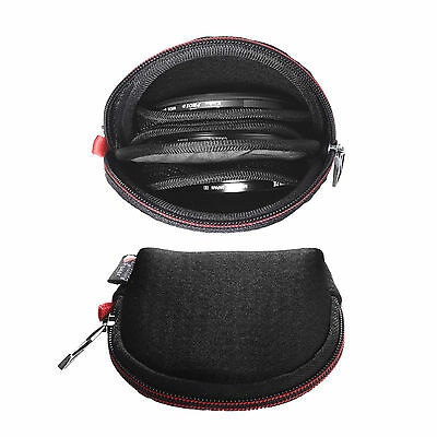 Black Lycra Lens Filter Pouch Camera Filters Case Bags for Round Filters