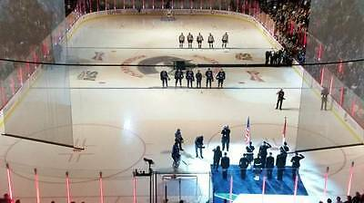 Sun Sept17 Vegas Golden Knights 1St Game - Vancouver Canucks Tickets Row2-Rogers