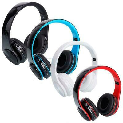 Wireless Bluetooth Stereo Foldable Headphones Mic for iPhone PC Computer MAC USA
