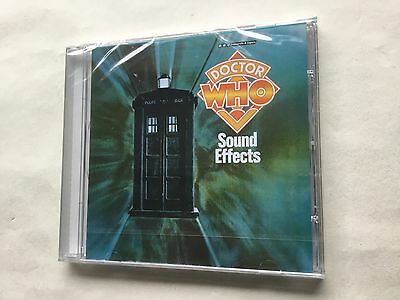 Doctor Who - Sound Effects - Digitally Remastered - New - Bbc Cd Audio Book