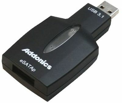 Addonics ADU31ESP-X USB3.1 to eSATAp Adapter w. 4K Sector