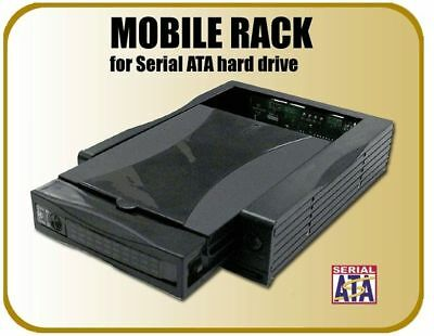 "Addonics AENRHDSA35-A HDD Enclosure - Black<br><i>1x 3.5"" SATA HDD</i>"