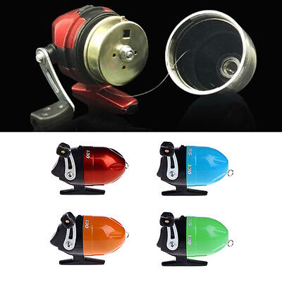 Metal Fishing Reel Spinning Spincasting Wheel With Fishing Line Gear Right Hand