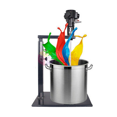 5 Gallon Pneumatic Paint Mixer With Stand Paint Coating Mixing Tool