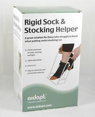 Rigid Sock Helper Frame Aid Assist for Compression Socks, Stockings and Tights
