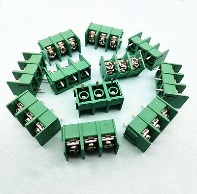 PCB Terminal Block Screw Connector MG/DG/KF7.62-2/3/4Way Pitch 7.6mm 300V 20A FZ
