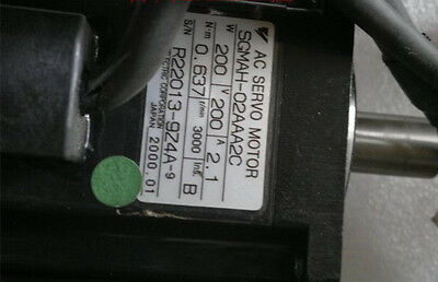 **USED Yaskawa servo motor SGMAH-02AAA2C with 60days warranty#J1