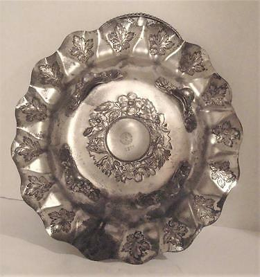 Antique PAIRPOINT VICTORIAN Silverplate BRIDES BASKET Silver Plate