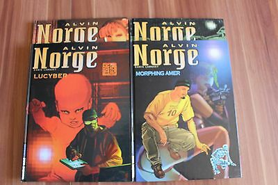 Lot BD 4 tomes ALVIN NORGE