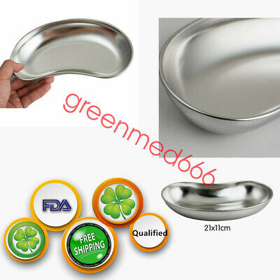 Stainless Steel Kidney Bowl Basin Emesis Trays Surgical Instrument 225×125×40mm