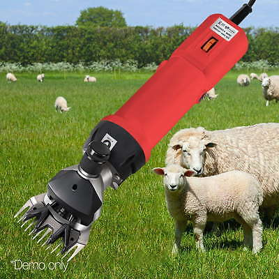 Electric Sheep Shearing Clipper Shear Goats Supplies Alpaca Farm Shears 500W