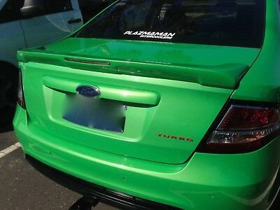 FORD FG  DJR Bob Tail Spoiler with LED - UNPAINTED