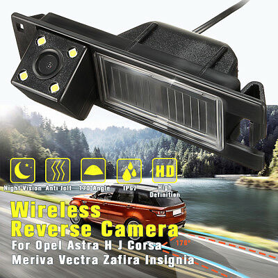 Car Rear View Camera CCD For Opel Astra H J Corsa Meriva Vectra Zafira Insignia