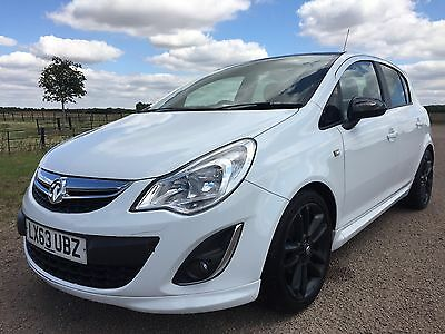 Vauxhall Corsa 1.2 Limited Edition. 2013, White, 5dr *CAT D*  *SPARES OR REPAIR*
