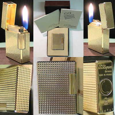 BRIQUET Ancien * ST DUPONT type - BR * Vintage gas LIGHTER FEUERZEUG ACCENDINO