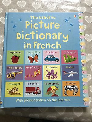 Usborne Kids Picture Dictionary In French Hardback