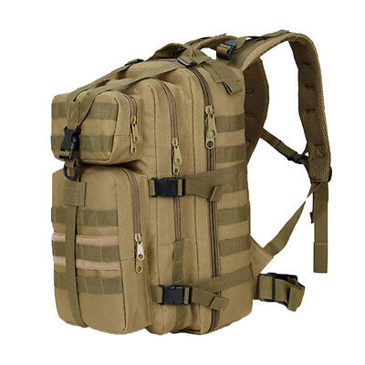 35L Outdoor Tactical Molle Military Rucksacks Backpack Travel Camping Bag Large